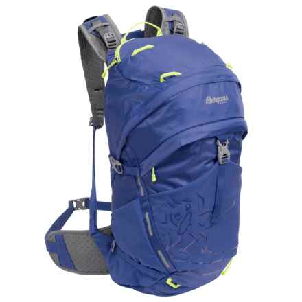 Bergans of Norway Rondane 30L Backpack in Blue/Neon Green - Closeouts