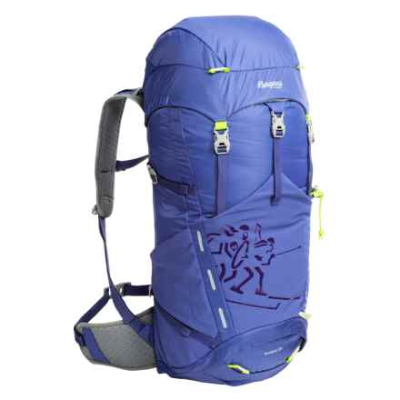 Bergans of Norway Rondane 38L Backpack - Internal Frame in Blue/Neon Green - Closeouts
