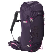 Bergans of Norway Rondane 46L Backpack - Internal Frame (For Women) in Blackberry/Hot Pink - Closeouts