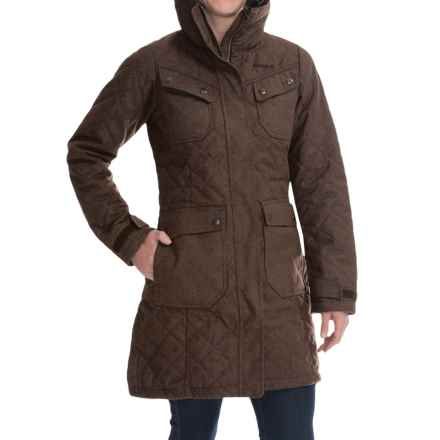Bergans of Norway Roros Winter Coat - Insulated (For Women) in Clay - Closeouts