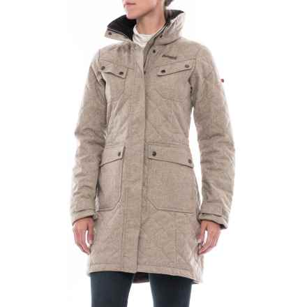 Bergans of Norway Roros Winter Coat - Insulated (For Women) in Grey Sand - Closeouts