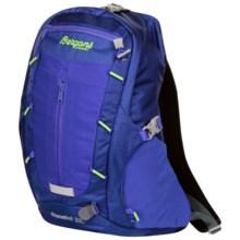 Bergans of Norway Skarstind 22L Backpack in Cobalt Blue/Neon Green - Closeouts