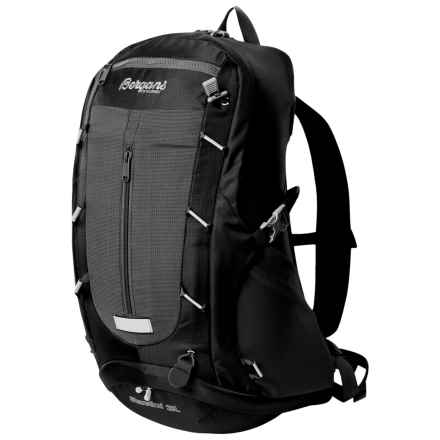 Bergans of Norway Skarstind 28L Backpack in Black/Solid Light Grey - Closeouts