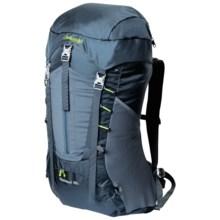Bergans of Norway Skarstind 32L Backpack in Dark Denim/Bright Lime - Closeouts