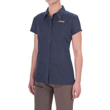 Bergans of Norway Sletta Shirt - Short Sleeve (For Women) in Navy - Closeouts