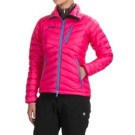Bergans of Norway Slingsbytind Down Jacket - 700 Fill Power (For Women) in Hot Pink - Closeouts