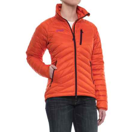 Bergans of Norway Slingsbytind Down Jacket - 700 Fill Power (For Women) in Koi Orange - Closeouts