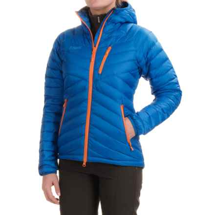Bergans of Norway Slingsbytind Jacket - 700 Fill Power (For Women) in Athens Blue - Closeouts