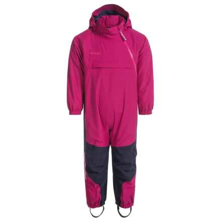 Bergans of Norway Snotind Baby Bodysuit - Waterproof, Insulated (For Toddlers) in Cerise - Closeouts