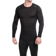 Bergans of Norway Soleie Base Layer Top - Merino Wool, Long Sleeve (For Men) in Black - Closeouts
