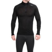 Bergans of Norway Soleie Base Layer Top - Merino Wool, Zip Neck, Long Sleeve (For Men) in Black - Closeouts