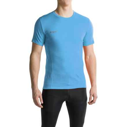 Bergans of Norway Soleie T-Shirt - Merino Wool, Short Sleeve (For Men) in Light Wintersky - Closeouts