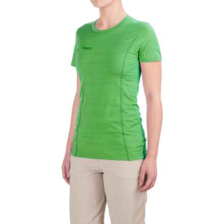 Bergans of Norway Soleie Ultralight Base Layer Top - UPF 25+, Merino Wool, Short Sleeve (For Women) in Timothy Green - Closeouts