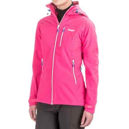 Bergans of Norway Stegaros Jacket (For Women) in Hot Pink/White/Bright Cobalt - Closeouts