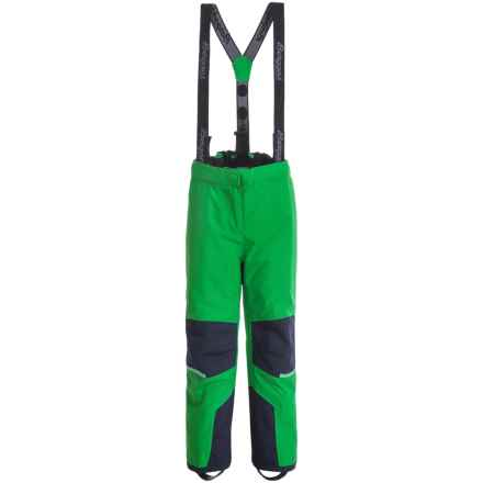 Bergans of Norway Storm Snow Pants - Waterproof, Insulated (For Toddler Boys) in Frog/Navy - Closeouts