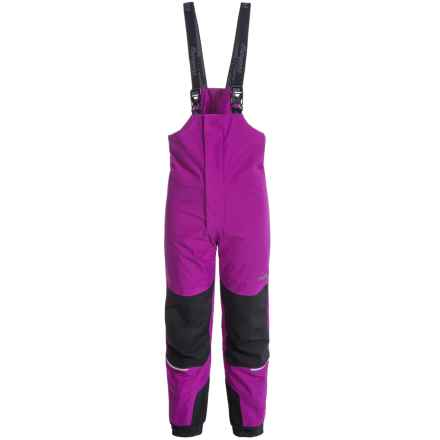 Bergans of Norway Storm Snow Pants - Waterproof, Insulated (For Toddler Girls) in Dark Heather - Closeouts