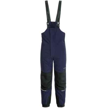 Bergans of Norway Storm Snow Pants - Waterproof, Insulated (For Toddler Girls) in Navy - Closeouts