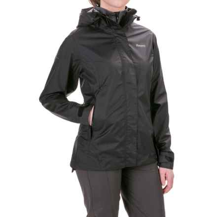 Bergans of Norway Super Lett Jacket - Waterproof (For Women) in Black - Closeouts