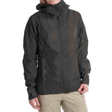 Bergans of Norway Super Lett Jacket - Waterproof (For Women) in Black - Closeouts