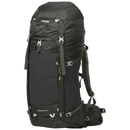 Bergans of Norway Trollhetta 55L Backpack - Internal Frame (For Women) in Lady Solid Charcoal/Alu - Closeouts