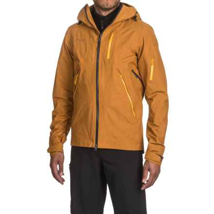 Bergans of Norway Trolltind Jacket - Waterproof (For Men) in Black/Colbalt Blue - Closeouts