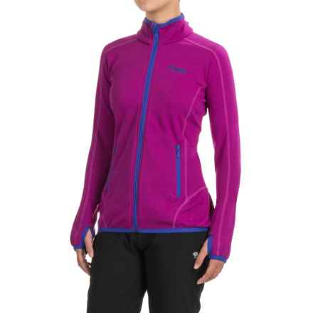 Bergans of Norway Vier Jacket (For Women) in Dark Tulip Pink/Pink/Cobalt - Closeouts