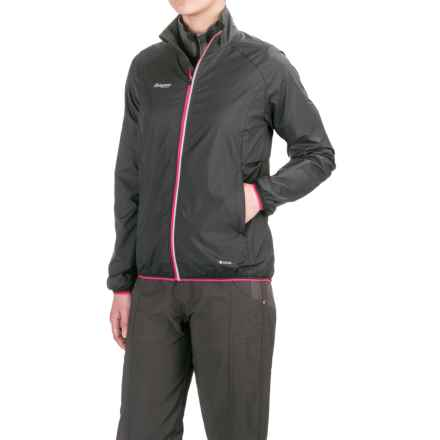 Bergans of Norway Viul Jacket (For Women) in Black/Hot Pink - Closeouts