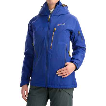 Berghaus Frendo Gore-Tex® Jacket - Waterproof, Insulated (For Women) in Blue/Blue - Closeouts