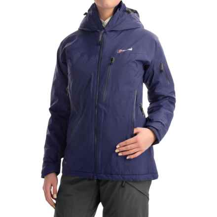 Berghaus Frendo Gore-Tex® Jacket - Waterproof, Insulated (For Women) in Dark Blue/Dark Blue - Closeouts