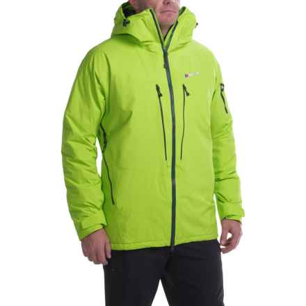 Berghaus Frendo Gore-Tex®Jacket - Waterproof, Insulated (For Men) in Electrogreen/Electrogreen - Closeouts