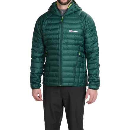 Berghaus Furnace Hydrodown Jacket - 700 Fill Power (For Men) in Greenbeetle/Greenbeetle - Closeouts