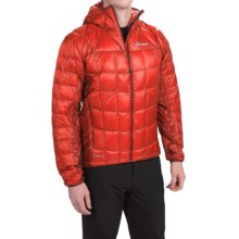 Berghaus Ilam Hydrodown Jacket - 850 Fill Power (For Men) in Extremred/Reddahlia - Closeouts