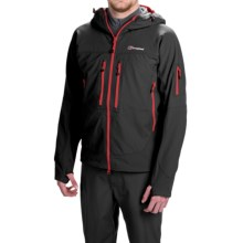 Berghaus Jorasses Soft Shell Jacket (For Men) in Black/Black - Closeouts