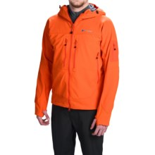 Berghaus Jorasses Soft Shell Jacket (For Men) in Orangesoda/Koiorange - Closeouts
