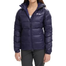 Berghaus Popena Hooded HydroDown Jacket - 600 Fill Power (For Women) in Eveningblue/Eveningblue - Closeouts