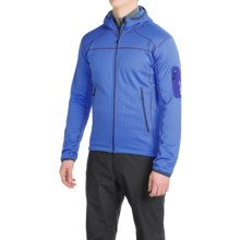 Berghaus Pravitale Fleece Jacket - Hooded (For Men) in Blue/Intense Blue - Closeouts