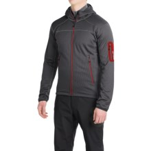 Berghaus Pravitale Fleece Jacket - Hooded (For Men) in Carbon/Black - Closeouts