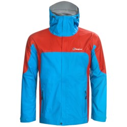 Berghaus Ridgeway Jacket - Waterproof (For Men) in Blue/Red