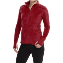 Berghaus Scorch Polartec® Thermal Pro® Micro Grid Jacket (For Women) in Dark Red/Dark Red - Closeouts