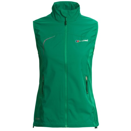Berghaus Sella Windstopper® Vest - Soft Shell (For Women) in Green