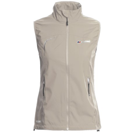 Berghaus Sella Windstopper® Vest - Soft Shell (For Women) in Natural