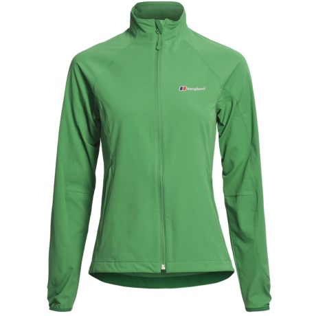 Berghaus Selway  Soft Shell Jacket (For Women) in Green