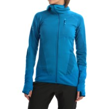 Berghaus Smoulder Polartec® Power Dry® Hooded Fleece Jacket - UPF 15+ (For Women) in Blue/Blue - Closeouts