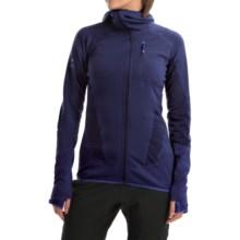 Berghaus Smoulder Polartec® Power Dry® Hooded Fleece Jacket - UPF 15+ (For Women) in Dark Blue/Dark Blue - Closeouts