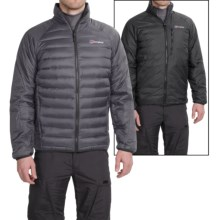 Berghaus Torridon Reversible Hydrodown Jacket (For Men) in Carbon/Black - Closeouts