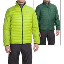 Berghaus Torridon Reversible Hydrodown Jacket (For Men) in Electrogreen/Pinegrove - Closeouts