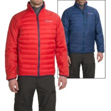 Berghaus Torridon Reversible Hydrodown Jacket (For Men) in Extremred/Twilightblue - Closeouts