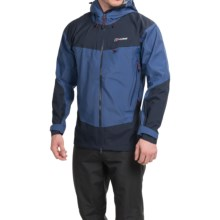 Berghaus Tower Hydroshell Jacket - Waterproof (For Men) in Twilight Blue/Dusk - Closeouts