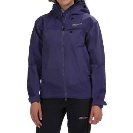 Berghaus Tower Hydroshell Jacket - Waterproof  (For Women) in Dark Blue/Dark Blue - Closeouts