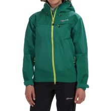 Berghaus Tower Hydroshell Jacket - Waterproof  (For Women) in Green/Green - Closeouts